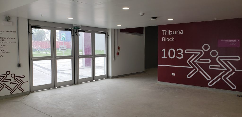3 Puertas Polideportivo Interior